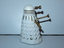 DOCTOR WHO DALEK WHITE & GOLD 100% COMPLETE 1987 DAPOL