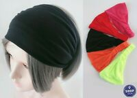 Women Yoga Sports Gym Workout Wide Hair Bandana Wrap Head band headband Scarf