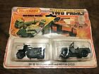 1975+Matchbox+Diecast+Two-Packs+TP-11+Military+jeep+and+Motor+Cycle+Mint+in+Pkg