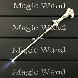 Harry Potter Voldemort Magic Wand w/LED Button Battery Cosplay Costume