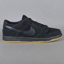 * * Nuovo di zecca da Uomo Nike SD Dunk basse pro IW Nero Con Gomma Marrone chiaro UK 9.5 EU 44