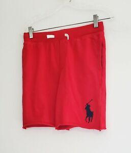Polo Ralph Lauren Big Boys Big Pony Pull On Short Red Sz M (10-12) - NWT