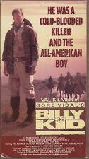 Billy The Kid (1989 BETA/Betamax) Gore Vidal, Val Kilmer
