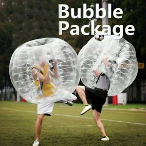 X XBEN Giant Hamster Ball Set of 2 for Kids,Adult Playgroud 47Inch Yard Inflatable Zorb Ball Bubble Soccer Bumper Ball for Outdoor Park
