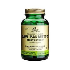 Solgar Saw Palmetto Berry Extract 60 vegetable capsules