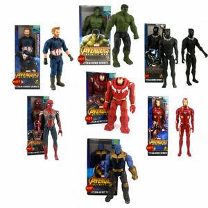 Marvel The Avengers Superheld Spiderman Action Figur Figuren Spielzeug 30cm DE-s