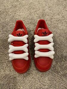 Adidas, Jeremy Scott, Red Bones Tribute, Size 9, RARE!