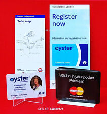 GENUINE 2012 QUEEN ELIZABETH II ROYAL DIAMOND JUBILEE TFL OYSTER CARD LTD EDN