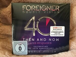 FOREIGNER - DOUBLE VISION: THEN AND NOW - NEW CD/DVD