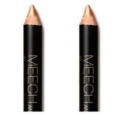 x2 MEECH and MIA Eyeshadow Pencil Chubby Stick 054 GOLD 2.2g Full Size NEW
