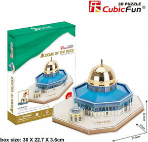 CFMC189H Dome of The Rock 3D Puzzle 48 Pieces. Daron. Brand New