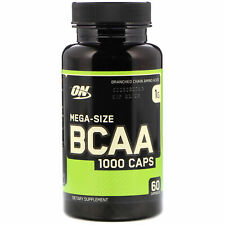 Optimum Nutrition BCAA 1000mg Amino Acids - 60 capsules BUILD MUSCLE