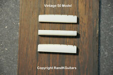 Slotted nylon nut for Vintage Gibson Les Paul Guitars original 50's spacing