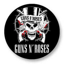 "Pin Button Badge Ø25mm 1"" Guns N' Roses GN'R GNR Hard Rock Axl Rose"