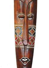 Wandmaske 1,00M Holzmaske Lounge Maske Afrika Style Motivmaske