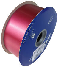 "FLORIST POLY RIBBON - 100 YARDS - 2"" WIDE - BURGUNDY"