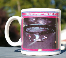 Star Trek Coffee Mug Next Generation U.S.S. Enterprise 1992 Paramount Pictures