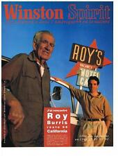 PUBLICITE  ADVERTISING  1993    WINSTON SPIRIT   ROY BURRIS route 66 California