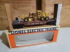 Lionel Pennsylvania Railroad Flat Car with ERTL Road Grader