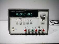 Agilent E3631A triple output DC power supply