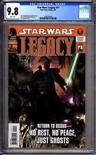 Srar Wars Legacy 11 CGC Graded 9.8 NM/MT Dark Horse Comics 2007