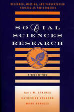 Social Sciences Research: Research, Writing, and Presentation Strategies for Stu