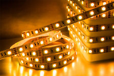 Ledison LED Strip Light 5M Roll SMD2835 Warm/Cool White 12W/M with Power Supply