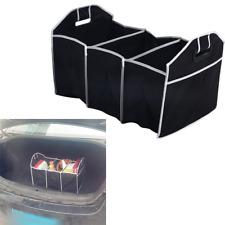 Fabric Collapsible Storage Box Bin Car Truck Trunk Room Organiser Bag