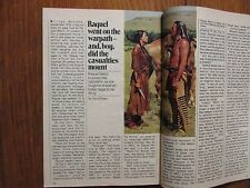 "May 29--1982 TV Guide(RAQUEL  WELCH/""THE LEGEND OF WALKS FAR WOMAN""/NICK MANCUSO"