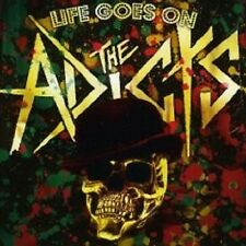 "THE ADICTS ""LIFE GOES ON"" CD PUNKROCK NEW"