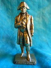 Figurine publicitaire MOKAREX - Très rare Napoléon 1er en métal, 9,5 cm.