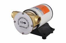 SEAFLO 8GPM 30LPM Self priming Centrifugal Impeller Bilge Pumps Marine RV