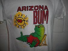 Vintage 80s 90s Arizona Bum Iguana Lizard T-Shirt M