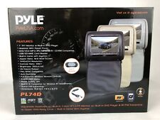 """Pyle 2017 Upgraded HD Quality Car Headrest DVD Player Monitor Display 7""""  PL74D"""