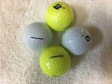 24 Bridgestone Tour BRX 5A(AAAAA) 22 White/ 2Yellow Mixed Color Golf Balls
