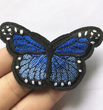 Sewing butterfly Embroidery On Patch Stickers Badge Embroidered Fabric Applique