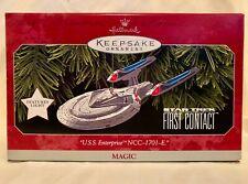 Hallmark Keepsake Ornament Star Trek First Contact Uss Enterprise Ncc-1701-E
