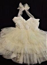 Party DRESS Toddler Girl Sz 2T Fluffy Full Ruffles & Flowers Beautiful! NEW NWT