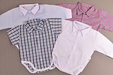 Body Hemd Jungen Größe 62, 68,74, 80, 86 Taufe Feier elegant Bodyhemd