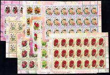 2008. Belarus. FLORA. FLOWERS. Sheets. MNH