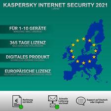 Kaspersky Internet Security 2021 EU [1 PC,  2 PC, 3 PC, 5 PC, 10-GERÄTE USER ]