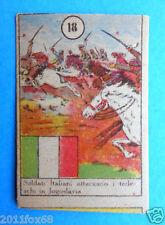 figurines picture cards cromos figurine v.a.v. vav #18 anni 40 jugoslavia italy
