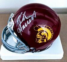 USC Trojans Mike Garrett  Autographed/Signed Authentic Mini Helmet