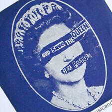 """ORIGINAL 1977 JAMIE REID ART SEX PISTOLS GOD SAVE THE QUEEN 7"""" VINYL EX+ RARE"""