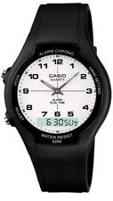 Casio    AW-90H-7B  AW-90  Alarm  Dual Time  Watch  Analog  Digital  50M   AW90