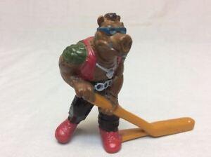 Vintage Remco TMNT Ninja Turtles 1990 Subterranean Sewer Hockey BEBOP