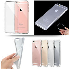 Transparent Crystal Clear Soft TPU Case Skin Cover Fr iPhone SE 5 5S