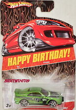 HOT WHEELS HAPPY BIRTHDAY TOYOTA MR2 GREEN