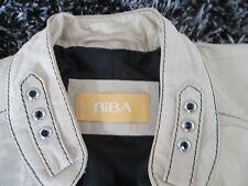 BiBA* Lederjacke Damenjacke Jacke Echtes Lamm echt Leder Gr. 40 - stylish rockig