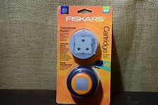 "FISKARS Everywhere Punch Cartridge Scalloped Square 1.5"" Create Windows Fast"